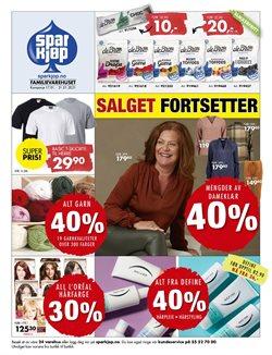 Tilbud fra Klær, sko og tilbehør i Sparkjøp-brosjyren ( 9 dager igjen )