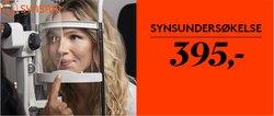 Tilbud fra Helse og skjønnhet i Synsam-brosjyren ( 3 dager igjen)