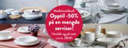 Tilbud fra Tilbords i Oslo-brosjyren