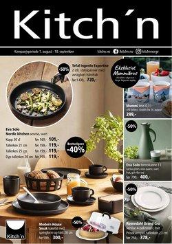 Kitch'n-katalog ( Publisert i går)
