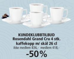 Tilbud fra Kitch'n i Oslo-brosjyren