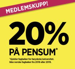 Tilbud fra Norli i Oslo-brosjyren