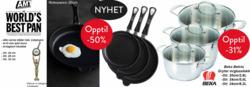 Tilbud fra Traktøren Kjøkkenutstyr i Oslo-brosjyren