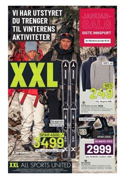 XXL Sport-katalog ( 2 dager igjen )