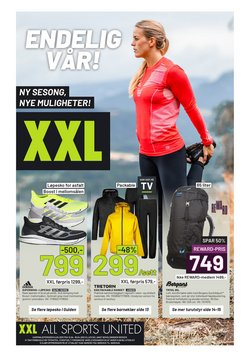 XXL Sport-katalog ( 4 dager igjen)
