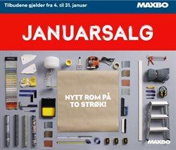 Maxbo-katalog i Sandvika ( 3 dager igjen )