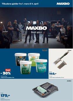 Tilbud på Bygg og hage i Maxbo-katalogen i Oslo ( 3 dager igjen )