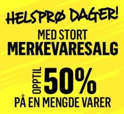 Tilbud på Salg i G-Sport-katalogen i Oslo