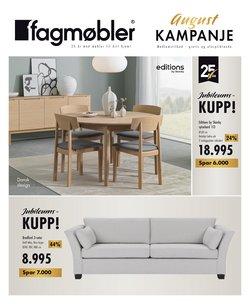 Tilbud fra Fagmøbler i Fagmøbler-brosjyren ( Publisert i dag)