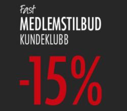 Tilbud fra Fagmøbler i Oslo-brosjyren
