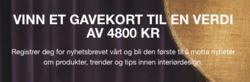 Tilbud fra Boconcept i Oslo-brosjyren