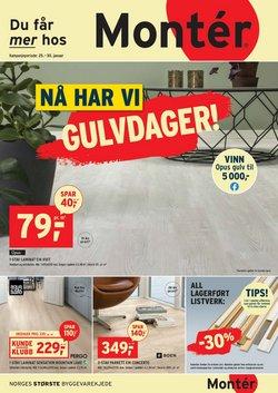 Montér-katalog i Drammen ( 2 dager igjen )