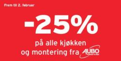Tilbud fra Montér i Oslo-brosjyren
