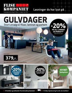 Flisekompaniet-katalog i Oslo ( Utløpt )