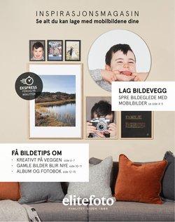 Tilbud fra Elite Foto i Elite Foto-brosjyren ( 19 dager igjen)