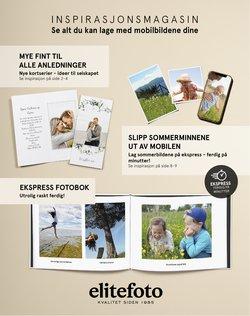 Tilbud fra Elite Foto i Elite Foto-brosjyren ( 8 dager igjen)