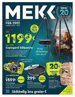 Tilbud på Bygg og hage i Mekk-katalogen i Oslo ( 6 dager igjen )