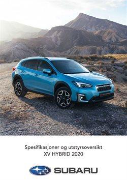 Tilbud på Bil og motor i Subaru-katalogen i Drammen ( Mer enn 30 dager )