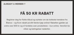 Tilbud fra Bianco i Trondheim-brosjyren