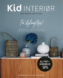 Kid interiør-katalog ( 4 dager igjen )