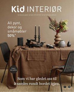 Tilbud fra Hjem og møbler i Kid interiør-brosjyren ( 7 dager igjen)