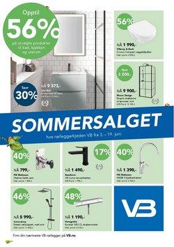 Tilbud fra Hjem og møbler i Varme & Bad-brosjyren ( 3 dager igjen)