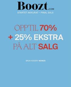 Tilbud fra Boozt i Boozt-brosjyren ( 9 dager igjen)