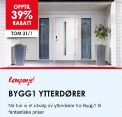 Tilbud fra Bygghjemme i Oslo-brosjyren