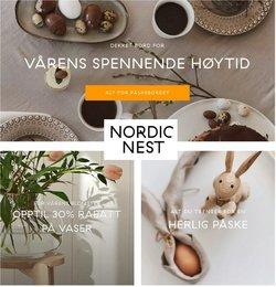 Tilbud fra Påske i Scandinavian Design-brosjyren ( 14 dager igjen)