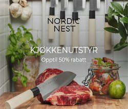 Tilbud fra Scandinavian Design i Scandinavian Design-brosjyren ( Utløper i dag)