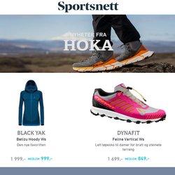 Tilbud fra Sportsnett i Sportsnett-brosjyren ( 2 dager igjen)