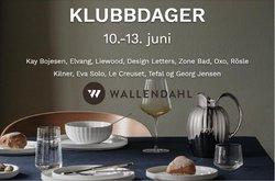 Tilbud fra Wallendahl i Wallendahl-brosjyren ( 10 dager igjen)