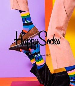 Tilbud fra Happy Socks i Happy Socks-brosjyren ( Publisert i dag)