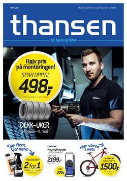 Thansen-katalog ( Publisert i går )