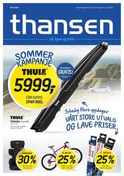 Tilbud fra Bil og motor i Thansen-brosjyren ( Utløper i morgen)