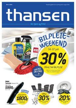 Tilbud fra Thansen i Thansen-brosjyren ( Utløper i morgen)