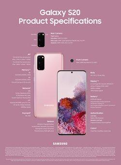 Tilbud fra Elektronikk og hvitevarer i Samsung-brosjyren ( Mer enn 30 dager)