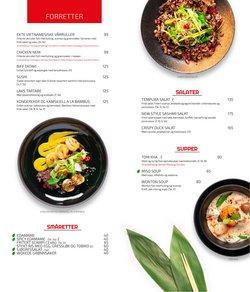 Tilbud fra Restauranter og caféer i Bambus Sushi-brosjyren ( Mer enn 30 dager)