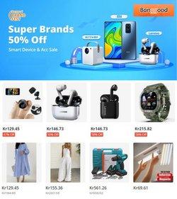 Tilbud fra Elektronikk og hvitevarer i Banggood-brosjyren ( 19 dager igjen )
