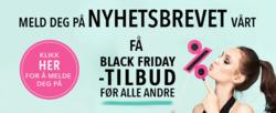 Tilbud på Black Friday i Douglas-katalogen i Oslo