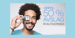 Tilbud fra SmartBuyGlasses i Oslo-brosjyren
