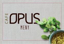 Tilbud fra Restauranter og caféer i Cafe Opus-brosjyren ( Mer enn 30 dager)