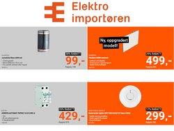 Tilbud fra Elektronikk og hvitevarer i Elektroimportøren-brosjyren ( 8 dager igjen)