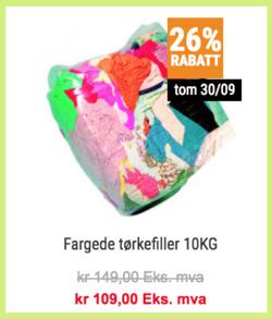 Tilbud fra Swedol i Trondheim-brosjyren