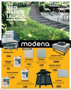 Tilbud fra Bygg og hage i Modena Fliser-brosjyren ( 2 dager siden)