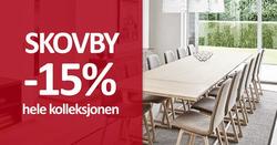 Krosby Møbler-kupong ( Publisert i går )