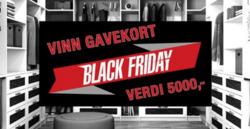Tilbud på Black Friday i Garderobemannen-katalogen i Oslo