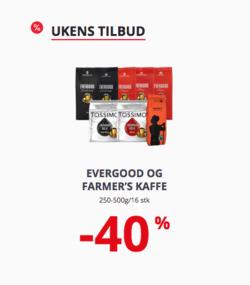 Tilbud fra Eurospar i Tromsø-brosjyren