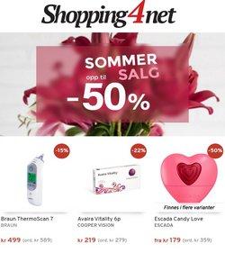 Tilbud fra Helse og skjønnhet i Shopping4net-brosjyren ( Publisert i går)