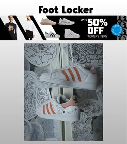 Tilbud fra Klær, sko og tilbehør i Foot Locker-brosjyren ( 2 dager igjen)